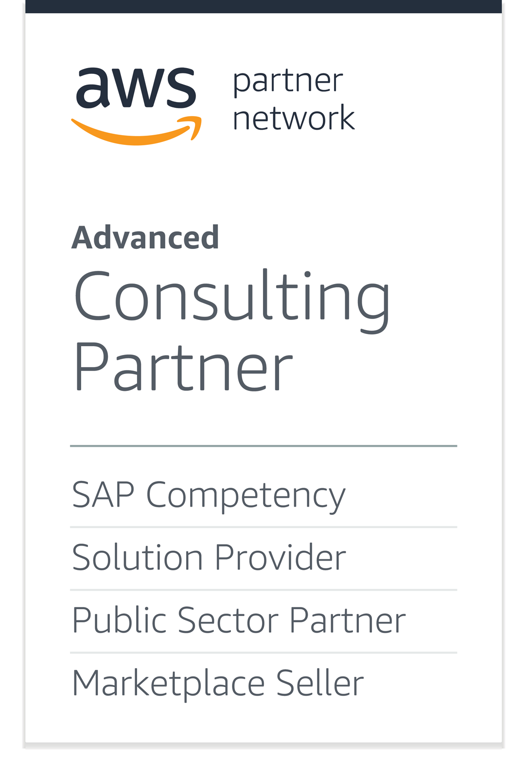 AWS Advanced Consulting Partner logo